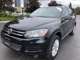 Used 2011 Volkswagen Touareg Comfortline TDI PANORAMIC SUNROOF CERTIFIED PRE-OW for sale in Concord, ON