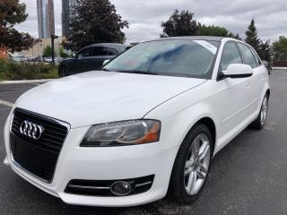 Used 2012 Audi A3 TDI Progressiv PANORAMIC SUNROOF 3 TO CHOOSE CERTI for sale in Concord, ON