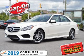 Used 2016 Mercedes-Benz E-Class E400 4MATIC Premium LEATHER NAV PANO ROOF LOADED for sale in Ottawa, ON