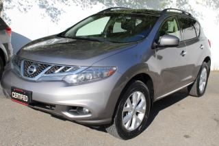 Used 2012 Nissan Murano SL AWD Back Camera Leather seats Panoramic Roof for sale in Mississauga, ON
