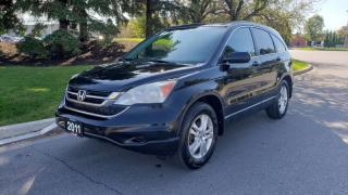 Used 2011 Honda CR-V 4WD 5dr EX-L w/Navi | Back-Up Camera | Leather for sale in Vaughan, ON