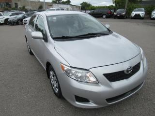 Used 2010 Toyota Corolla 2010 Toyota Corolla - 4dr Sdn Auto CE for sale in Toronto, ON