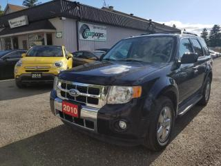 Used 2010 Ford Escape LIMITED 4WD for sale in Bloomingdale, ON