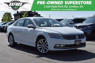 Used 2017 Volkswagen Passat 1.8 TSI Highline - Sunroof, Backup for sale in London, ON