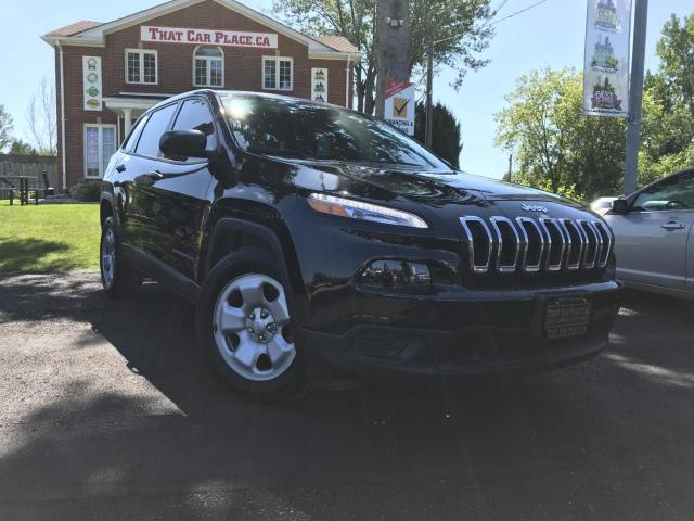 2016 Jeep Cherokee Sport FWD Pwr Wndws-Cruise-A/C-2.4L