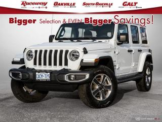 Used 2020 Jeep Wrangler Unlimited Sahara for sale in Etobicoke, ON