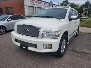 Used 2006 Infiniti QX56 AWD, NAVI, SUNROOF, BOSE, Heated Seats for sale in Toronto, ON