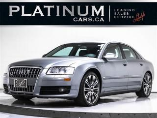 Used 2007 Audi S8 QUATTRO, V10 444 HP, NAVI, CAMERA, SUNROOF, Carbon for sale in Toronto, ON