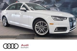 Used 2019 Audi A4 45 Technik + Loaded | Driver Assist | Audi Care! for sale in Whitby, ON
