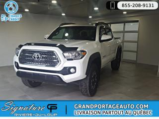 Used 2017 Toyota Tacoma TRD Offroad V6 Auto Cabine Double 4X4 for sale in Rivière-Du-Loup, QC
