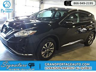 Used 2015 Nissan Murano SL AWD TOIT for sale in Rivière-Du-Loup, QC