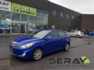 Used 2012 Hyundai Accent GLS, toit ouvrant, mags, bluetooth, a/c for sale in Chambly, QC