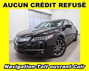 Used 2015 Acura TLX ELITE SH-AWD TOIT OUVRANT CUIR *NAVIGATION* for sale in St-Jérôme, QC