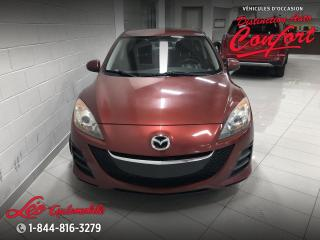 Used 2010 Mazda MAZDA3 Berline 4 portes, boîte manuelle, GX for sale in Chicoutimi, QC