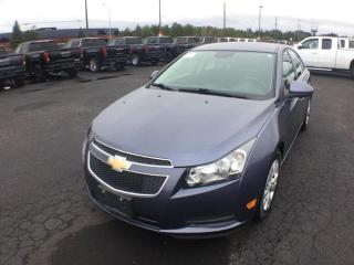Used 2014 Chevrolet Cruze 1LT for sale in Thunder Bay, ON