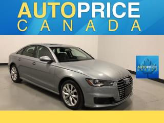 Used 2016 Audi A6 2.0T Progressiv MOONROOF|NAVIGATION|LEATHER for sale in Mississauga, ON