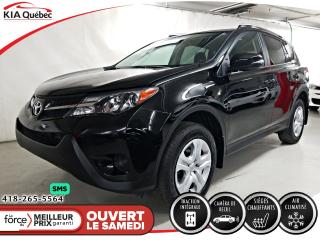 Used 2015 Toyota RAV4 LE* AWD* SIEGES CHAUFFANTS* A/C* BLUETOOTH* for sale in Québec, QC