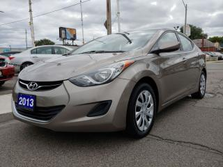 Used 2013 Hyundai Elantra GLS/AMAZING CONDITION/DRIVES GREAT/ONLY 154 KMS!!! for sale in Hamilton, ON