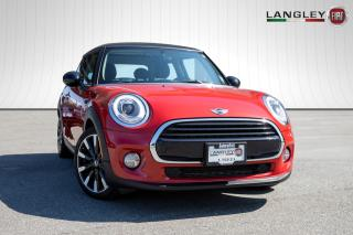 Used 2017 MINI 3 Door Cooper BLUETOOTH, MULTI-MEDIA JACKS, POWER, LEATHER SEATS AND MIRRORS ! for sale in Surrey, BC
