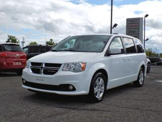 Used 2018 Dodge Grand Caravan CREW PLUS *CUIR*GPS*PORTES ÉLEC* for sale in Brossard, QC