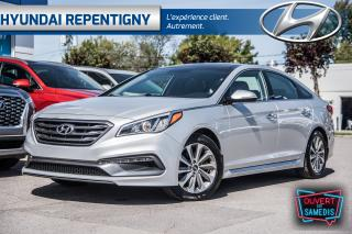 Used 2015 Hyundai Sonata SPORT TECH**NAVIGATION, TOIT PANORAMIQUE** for sale in Repentigny, QC