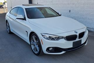 Used 2017 BMW 4 Series 430i xDrive BEAUTIFUL WHITE ON RED! for sale in Dorval, QC