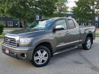 Used 2009 Toyota Tundra Limited 4X4 for sale in Cambridge, ON