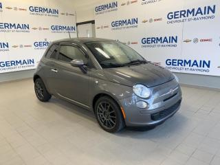 Used 2013 Fiat 500 Pop- MANUELLE- BAS KM- JAMAIS ACCIDENTÉ for sale in St-Raymond, QC