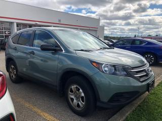 Used 2013 Honda CR-V LX Low Km, One Owner for sale in Waterloo, ON