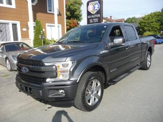 Used 2018 Ford F-150 2018 Ford F-150 -Lariat 4WD SuperCrew turbo diesel for sale in Ste-Marie, QC