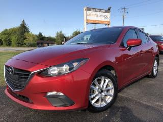 Used 2016 Mazda MAZDA3 GS Auto, Air, Cruise with Heated Seats, BackupCam, Bluetooth and Alloy Wheels! for sale in Kemptville, ON