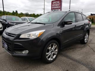 Used 2015 Ford Escape Titanium NAVIGATION !!  AWD !!  LEATHER !! for sale in Cambridge, ON