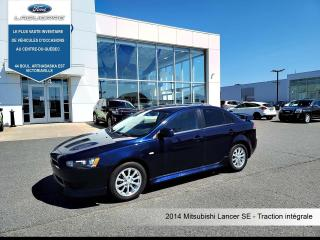 Used 2014 Mitsubishi Lancer SE AWD**BLUETOOTH*CRUISE*A/C*SIÈGES CHAUFFANTS** for sale in Victoriaville, QC