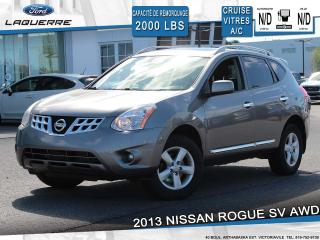 Used 2013 Nissan Rogue SV AWD**BLUETOOTH*CRUISE*A/C** for sale in Victoriaville, QC