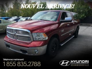 Used 2015 RAM 1500 ECODIESEL + BIG HORN + GARANTIE + 4X4 + for sale in Drummondville, QC