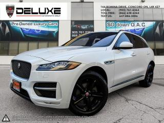 Used 2017 Jaguar F-PACE 35t R-Sport 2017 JAGUAR F-PACE R SPORT  35T R SPORT HEADS-UP DISPLAY AWD NAVIGATION 3.0L V6 Supercharged 340 HP for sale in Concord, ON