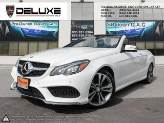 Used 2015 Mercedes-Benz E-Class 2015 MERCEDES BENZ E400 CABRIOLET3.0L DOHC V6 w/Direct Injection,NAVIGATION $0 DOWN OAC for sale in Concord, ON