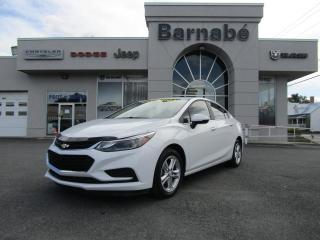 Used 2017 Chevrolet Cruze CHEVROLET CRUZE LT*MAGS*CAMERA*BLUETOOTH for sale in Napierville, QC