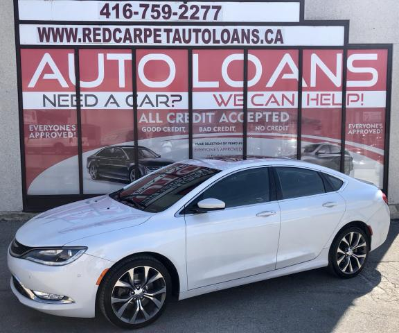 2015 Chrysler 200 C-ALL CREDIT ACCEPTED