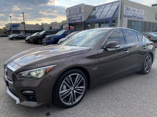 Used 2014 Infiniti Q50 Hybrid Haut de gamme HYBRID|NAVIGATION|AWD|LOADED for sale in Concord, ON