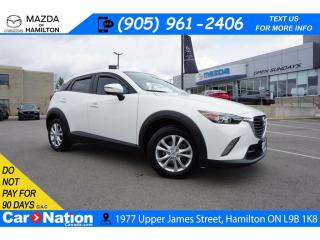 Used 2017 Mazda CX-3 GS | NAV | HEATED SEATS | REAR CAM | BLUETOOTH for sale in Hamilton, ON