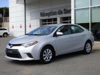 Used 2015 Toyota Corolla LE - CVT - Caméra de recul - Sièges chau for sale in Trois-Rivières, QC