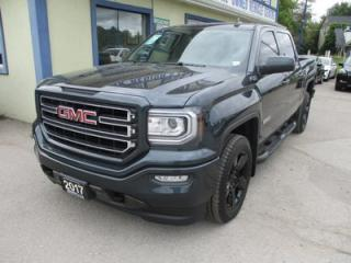 Used 2017 GMC Sierra 1500 LIKE NEW Z71 - ELEVATION EDITION 5 PASSENGER 5.3L - V8.. 4X4.. CREW.. SHORTY.. HEATED SEATS.. BACK-UP CAMERA.. BLUETOOTH.. TRAILER BRAKE.. for sale in Bradford, ON