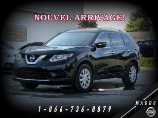 Used 2015 Nissan Rogue S FWD + BLUETOOTH + CAMÉRA + ÉCONOMIQUE! for sale in Magog, QC