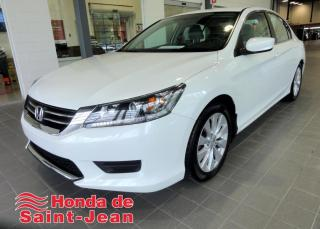 Used 2014 Honda Accord LX I4 4 portes CVT A/C for sale in St-Jean-Sur-Richelieu, QC