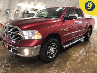 Used 2013 RAM 1500 Big Horn * 4X4 * Crew Cab * Hemi * Heated mirrors * Tilt steering * Power drivers seat * Power windows/locks/mirrors * Tow hitch w/ 6 pin connect * Tr for sale in Cambridge, ON