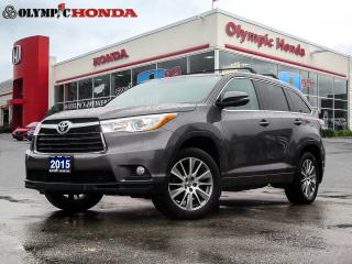 Used 2015 Toyota Highlander XLE for sale in Guelph, ON