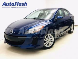 Used 2012 Mazda MAZDA3 GX *AUTOMATIQUE* A/C* for sale in St-Hubert, QC