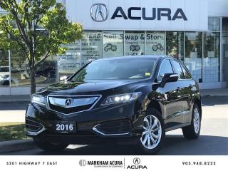 Used 2016 Acura RDX at V6 AWD, Backup Cam, Power Liftgate for sale in Markham, ON