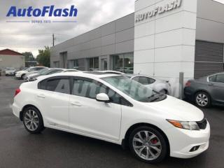 Used 2012 Honda Civic SI *Bluetooth* GPS* Toit-Ouvrant/Sunroof* for sale in St-Hubert, QC